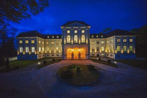 Galeria Hotel Pałac Alexandrinum » Pałac nocą
